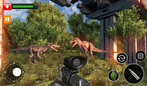 Dinosaur Hunter Survival Game : Free Dino Shooting apkpoly screenshots 2