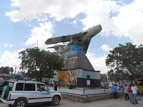 Photo: Mig memorial to the Somali civil war / Somaliland independence