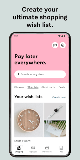 Klarna - Shop now. Pay later.  screenshots 2