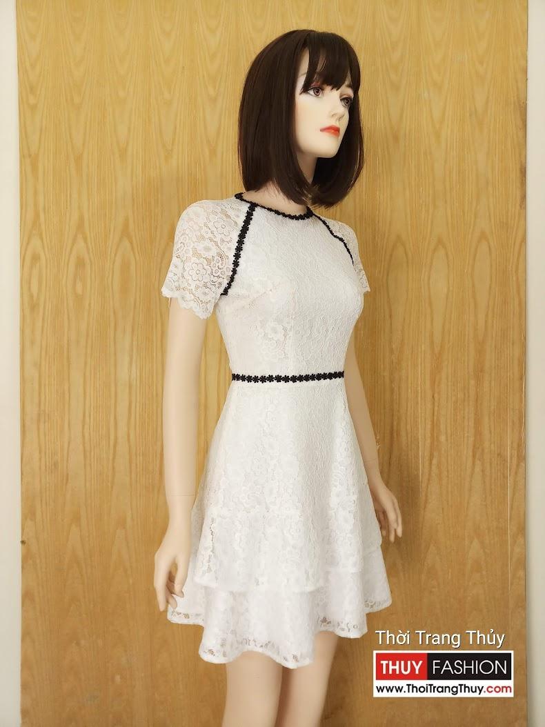 Váy ren dáng xòe dự tiệc V624 Thời Trang Thủy Hải Phòng