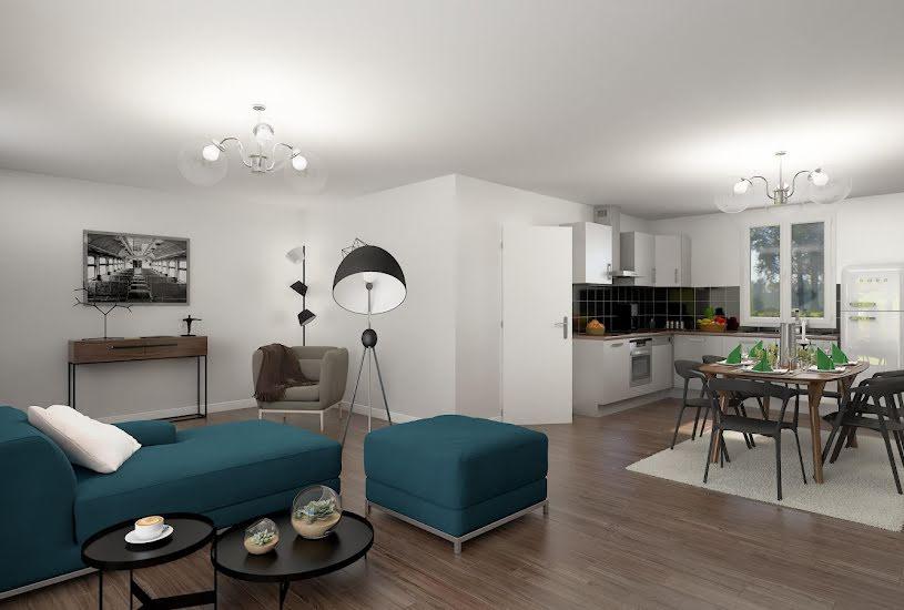 Vente Terrain + Maison - Terrain : 700m² - Maison : 96m² à Carentan (50500)