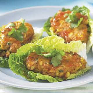 Crab and Corn Cakes.