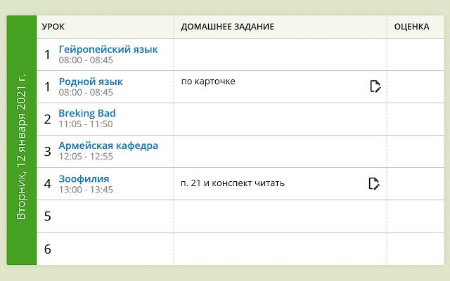 Кастомные названия предметов для АСУ РСО