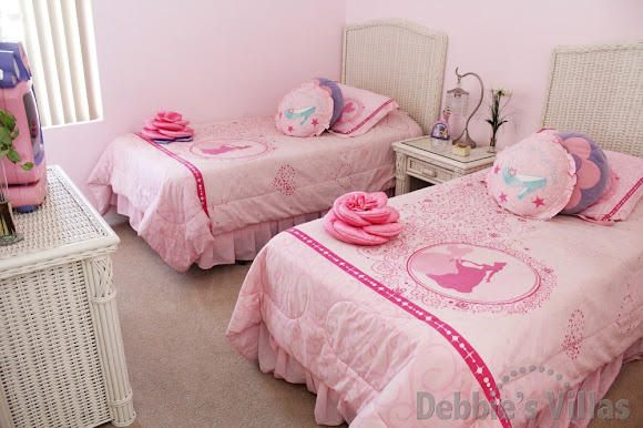 Bedroom 4 with Princess theme
