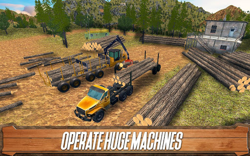 Sawmill Driver: Logging Truck & Forest Harvester  screenshots 2