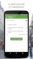 Screenshot of Geovelo Paris