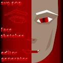 MaSk FACE: Manga Sketcher Face editor icon