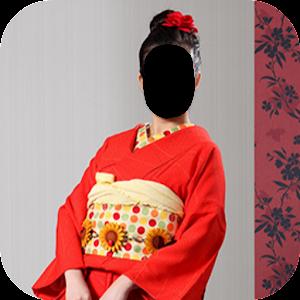Japan Women Kimono Dress Photo Frames for PC