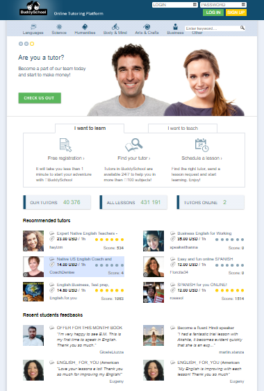 10 Core Features for Every Online Learning Platform - feedback and rating