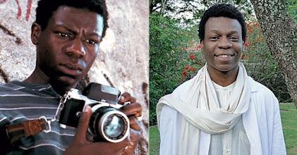 """Photo: Alexandre Rodrigues como Buscapé em """"Cidade de Deus"""" e depois com mais idade."""