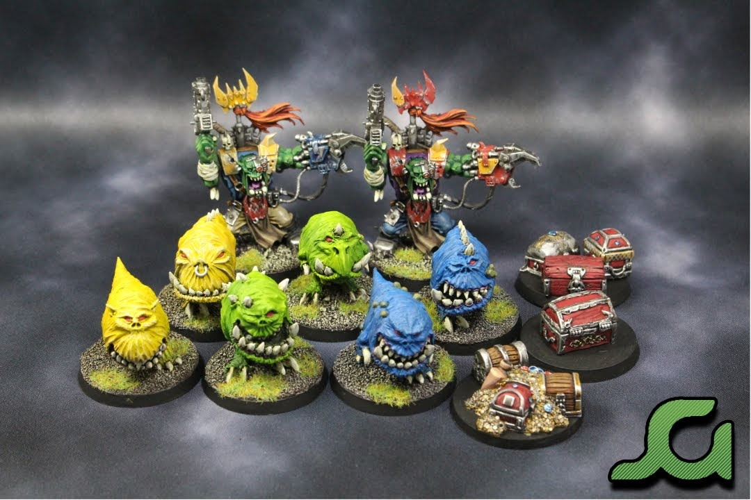 Orks and Treasure