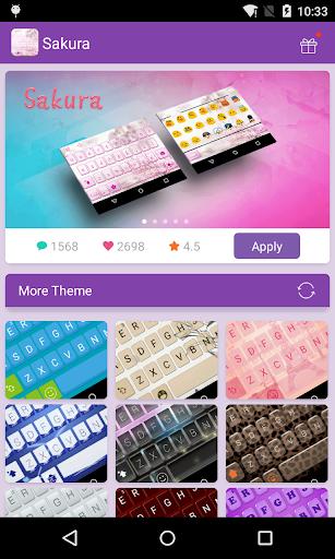 Emoji Keyboard-Sakura