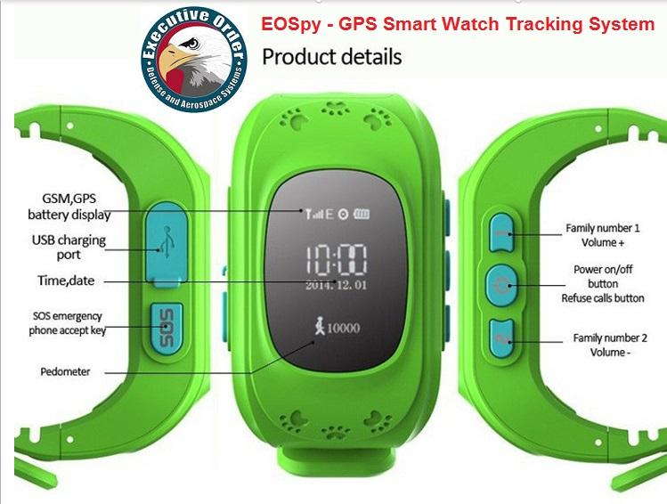 EOSpy Lite GPS Tracking Device- screenshot