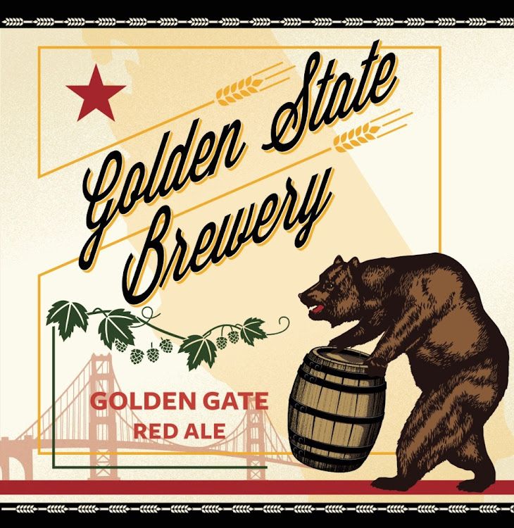 Logo of Golden State Gate Red