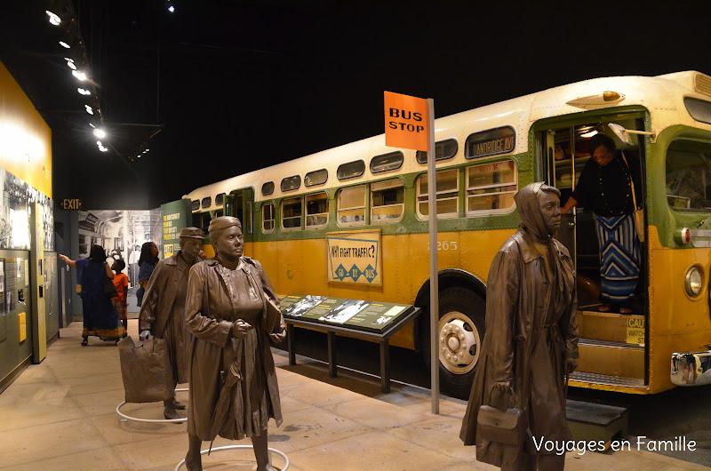 Rosa parks' bus - NCRM