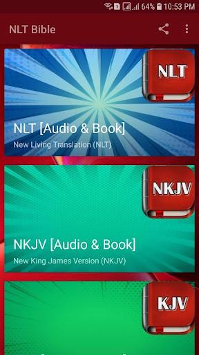 NLT Audio Bible Free. Audio Bible Dramatized 10.07 screenshots 1