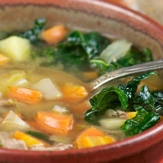 Super Energy Kale Soup.
