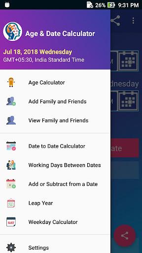 Age Calculator Pro screenshot 1
