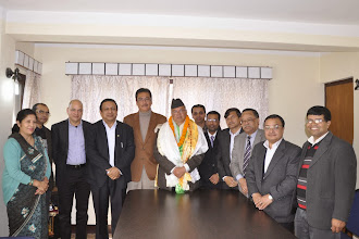 Photo: Meeting with CPN-UML Chairman