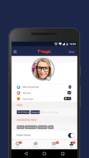 Mingle - Online Dating App to Chat & Meet People  screenshots 3