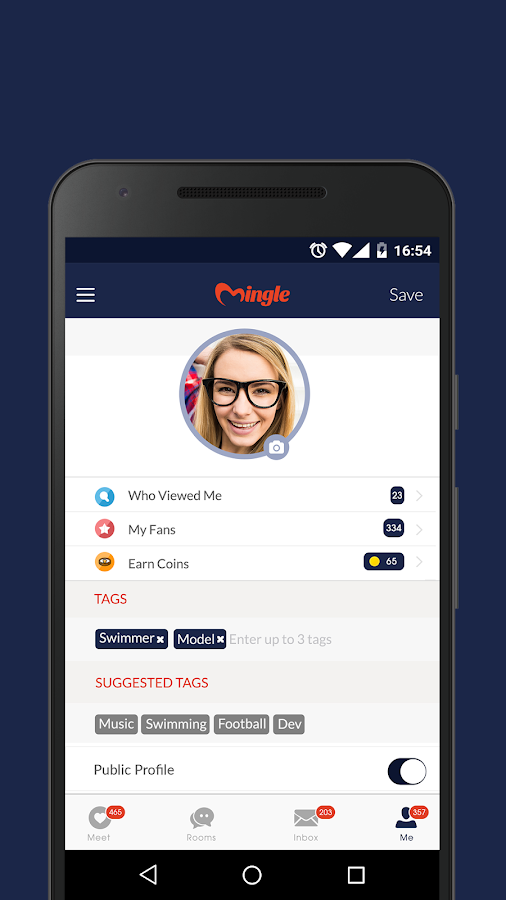 Mingle - Dating, Chat & Meet- screenshot