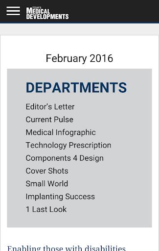Today's Medical Developments screenshot 2