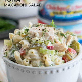Pickled Tuna Macaroni Salad Recipe