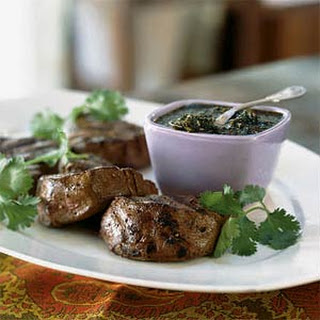 Filet Mignon with Peppercorn-Orange Sauce