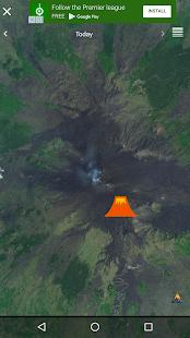 Quake & Volcanoes: 3D Globe of Volcanic Eruptions - náhled