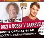 Dozi and Bobby van Jaarsveld at Dozis Back To The Roots : Dozi's Back to the Roots