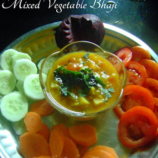 Mixed Vegetable Bhaji.