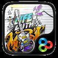 Music life GO Launcher Theme icon
