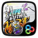 Music life GO Launcher Theme icon