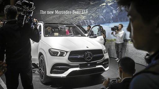 The new Mercedes GLE takes another step towards automated driving. Picture: SUPPLIED