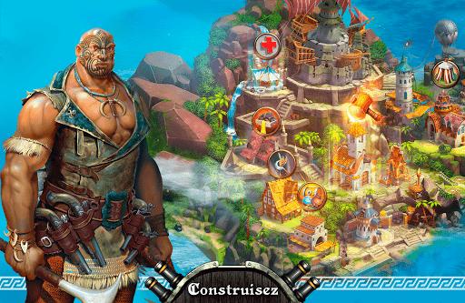 Pirate Sails: Tempest War  captures d'u00e9cran 1