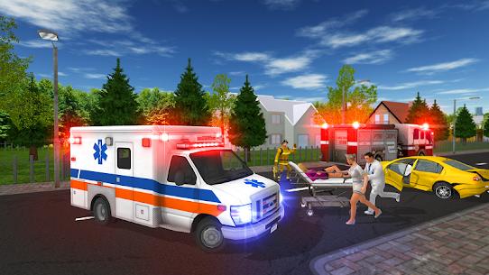 سيارة إسعاف لعبة 1