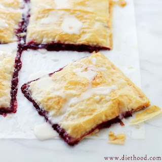 Phyllo Raspberry Pop Tarts