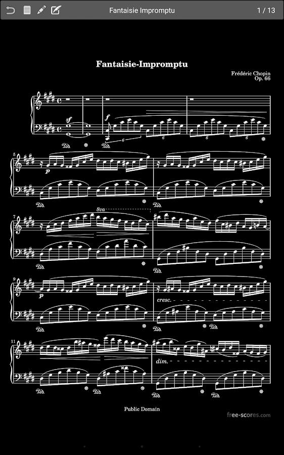 MobileSheetsFree Music Reader - screenshot