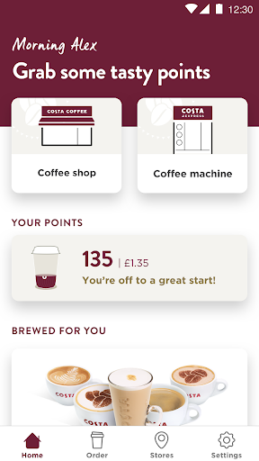 Costa Coffee Club 4.18.0 screenshots 2