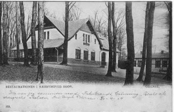Photo: 1930-erne. Restaurant Næsbyhoved Skov er blevet benyttet til adskillige selskaber gennem tiden ved GORs og ORVs selskabelige arrangementer.