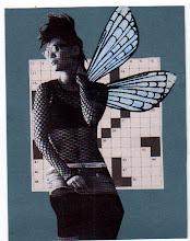 Photo: Wenchkin's Mail Art 366 - Day 263 - Card 263a