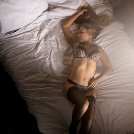 from above by Gary Bradshaw - Nudes & Boudoir Boudoir