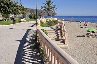 Photo: Ein Strand von Moraira