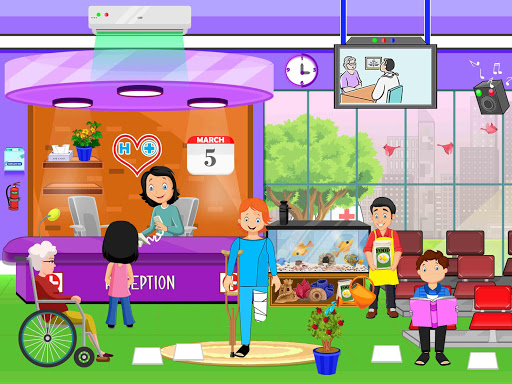 Pretend Town Hospital: City Doctor Life Game 1.0.6 screenshots 15