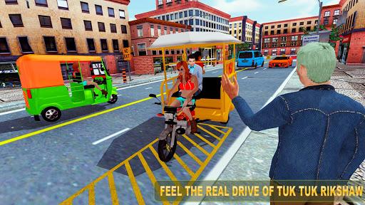 Code Triche Female Chingchi Driver: City tuk tuk QINGQI taxi apk mod screenshots 5
