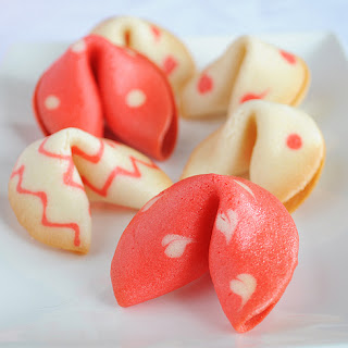 Valentine's Fortune Cookies.