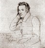 Porträt Heinrich Heine.