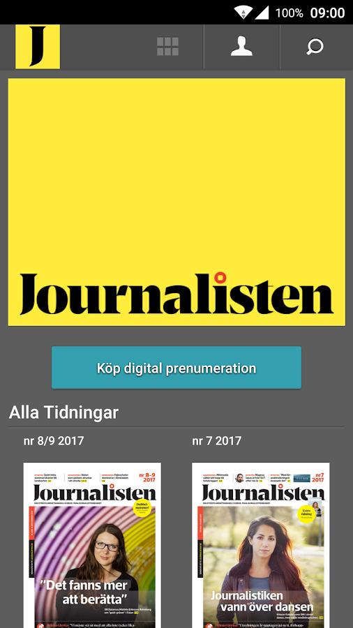 Journalisten- screenshot
