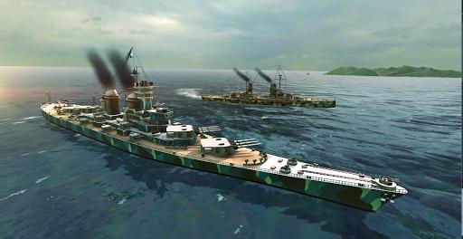 Battle of Warships: Naval Blitz  captures d'u00e9cran 2