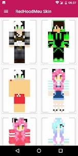RedHoodMeu Skins for Minecraft PE 2